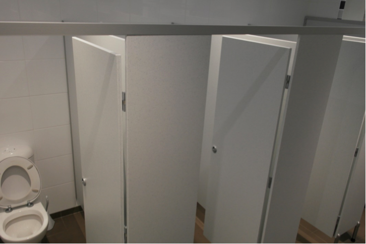 NUVEX Cubicle Systems Bathroom Partitions Commercial Bathroom - Public bathroom partitions